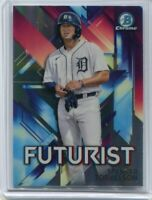 2021 Bowman Futurist Refractor Spencer Torkelson #1 Overall Pick Tigers Star 3B
