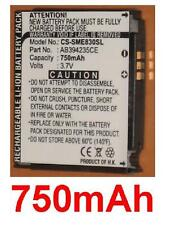 Battery 750mAh type AB394235CE For SAMSUNG SGH-E830 SGH-E838