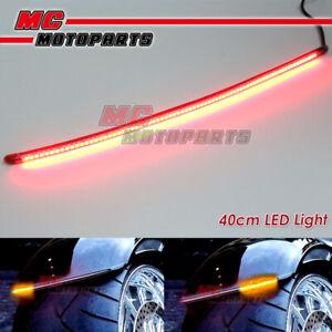 AMP-Z 42cm Smoke Integrated LED Tail Light bar Tube For Kymco motorcycles