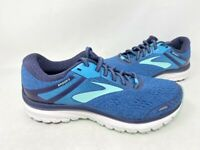 NEW! Brooks Women's Adrenaline Lace Up Shoes Blue/Teal #1202681B495 200D tk