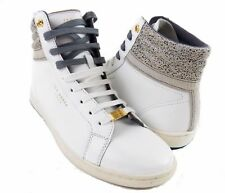 NIB Ted Baker Kilma 2 Men's Sneakers White High Top Leather Size 9 M-US
