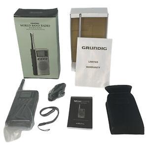 Grundig Mini 300PE  World Band Radio Receiver AM/FM Short Wave Digital Frequency