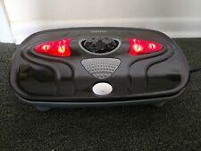 HoMedics Heated Vibrating Foot Massager Black Works Fine 14x10x3