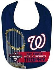 MLB Washington Nationals 2019 World Series Champions Baby Bib by WinCraft
