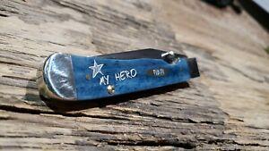 Case XX 2020 6154AC Father's Day Mediter Blue Kickstart Trapperlock knife 10591