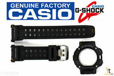 CASIO G-Shock GW-9000 Black Rubber BAND & BEZEL Combo GW-9000A GW-9000Y