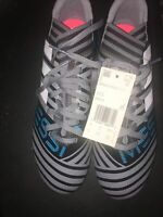 Adidas Nemeziz Messi 17.3 FG Junior Grey Soccer Cleats Size 4.5 NWT