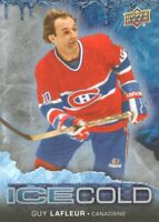 2017-18 Upper Deck Overtime Ice Cold #IC-15 Guy Lafleur Montreal Canadiens