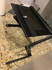 New listing Cooler Master 360° Adjustable Folding Laptop Desk Table Stand Black