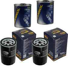 2x Original SCT Ölfilter SM 137 + 2x SCT Motor Flush Motorspülung