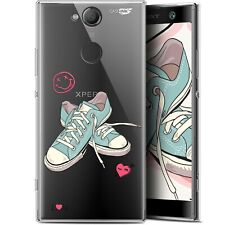 """Coque Gel Sony Xperia XA2 (5.2"""") Extra Fine - Mes Sneakers d'Amour"""