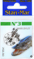 Stan-mar micro split rings. diameter 3,5,7mm 20pcs. Lure fishing,lrf,crank bait,