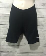 Cannondale Black Padded Cycling Bicycle Stretch Shorts Womens Small Petite