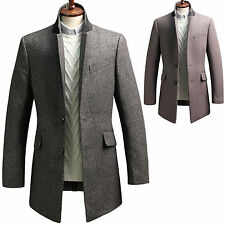 New Fashion Mens Luxury Wool Blazer Jacket Jumper Coat Outwear Top B021 XS/S/M