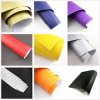 Auto 3D 4D Carbon Fiber Vinyl Car Wrap Sheet Roll Film Sticker Decal Paper DIY