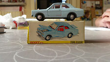 Dinky Toys MECCANO 168 Ford Escort Mk1 1/43 NMIB