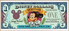 Disney Dollar 1993  Mickey's 65 Birthday  A Series or D Series  NEW