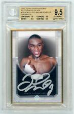 Floyd Mayweather 2017 Topps Transcendent Framed Silver Autograph 04/15 - BGS 9.5