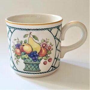 "Villeroy & Boch ""BASKET"" Tea Cup(s) - 7cm wide 7cm tall - Like New"