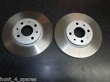 Fiat Stilo Calidad Delantero Discos De Freno - 257 mm por favor compruebe tamaños