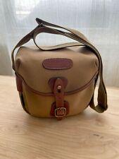 Billingham Hadley Digital Camera bag - Khaki/Tan WATER RESISTANT canvas leather
