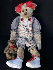"Kathy's Homespun "" Gerber "" Plush Bear"