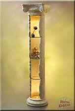 Griechische Säule Säulenvitrine Säulenregal Bar Regal Rundregal Vitrine 207cm
