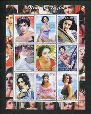 Turkmenistan Commemorative Souvenir Stamp Sheet - Actress Elizabeth Taylor