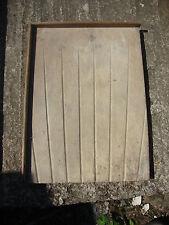 reclaimed solid teak butler sink draining board