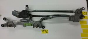10-15 Toyota Prius Front Windshield Wiper Transmission Linkage W/ Motor OEM T56