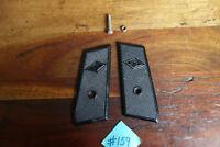Mondial Black Pistol Grips W/ Screw Good Shape