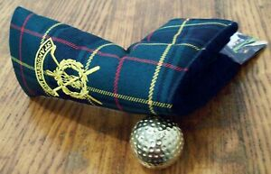 New ST. ANDREWS Links Tartan Blade Putter Cover Headcover Open Old Course