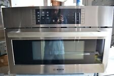"""Bosch 800 Series 30"""" Stainless Steel Electric Convection Speed Oven HMC80252UC"""