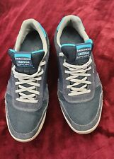 Skechers Mens Sneakers Trainers Runners Blue Size UK 10 Blue