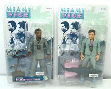 Miami Vice Action Figures Detective James Sonny Crockett Ricardo Rico Tubbs NEW