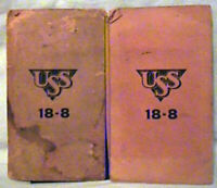 VINTAGE SALESMAN SAMPLE  AMERICAN SHEET AND TIN PLATE COMPANY  USS STAINLESS STE