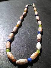 1Original Silk Road Semi-Precious Stone Beads Necklace