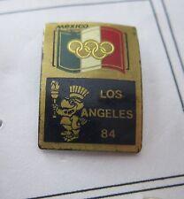 1984 LOS ANGELES Olympics MEXICO NOC WITH LA 84 MASCOTTE pin badge