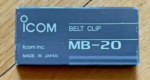 ICOM MB-20 BELT CLIP  - Icom Mobilhalterung MB 20