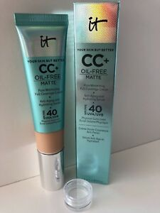 It Cosmetics Your Skin But Better CC+ Oil-Free Matte with SPF 40 Sample Pot 2ml