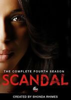 Scandal: The Complete Fourth Season [New DVD] Boxed Set, Dolby, Subtitled, Wid