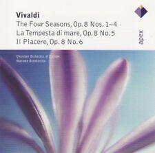 Vivaldi - The four seasons/La tempesta di mare/Il piacere (Blankestijn) CD