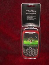 Blackberry Bold 9700 RED Gel Skin 35577ODR NEW FAST FREE SHIP