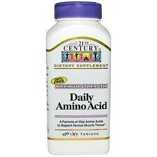 Daily Amino Acid, Maximum Strength, 120 Tablets