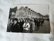 IRISH REPUBLICAN OLD FREE DERRY CORNER BEFORE STREET WAS KNOCKED DOWN,POSTCARD