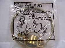 The Jailers Key Ring and Policemans Whistle Sealed Estate Find