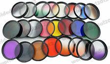 24pcs 52mm Graduated color Filter Set ND for Nikon D70 D80 D90 D100 D3000 D7100