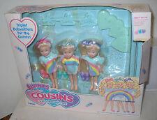 #8805 RARE Vintage Tyco Quints Cousins Rainbow Dolls