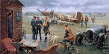 """Return to the Bump/Biggin Hill"" Gil Cohen Print - Battle of Britain/Summer 1940"