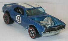 Redline Hotwheels Blue 1970 Heavy Chevy oc6680